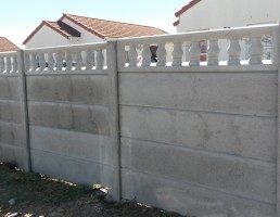 Vibracrete Walls