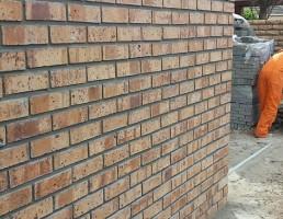 Wall built